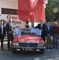 Girne Belediyesi'nden klasik otomobil sergimize tam destek